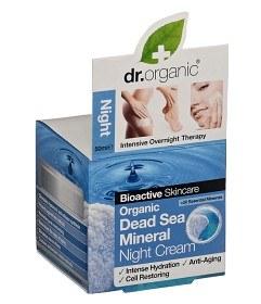 Bild på Dr Organic Dead Sea Mineral Night Cream 50 ml