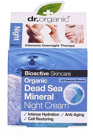 Bild på Dr Organic Dead Sea Mineral Night Cream 50 ml