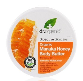 Bild på Dr Organic Manuka Honey Body Butter 200 ml