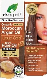 Bild på Dr Organic Moroccan Argan Oil Liquid Gold 100% Pure Oil