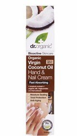 Bild på Dr Organic Virgin Coconut Oil Hand & Nail Cream 100 ml