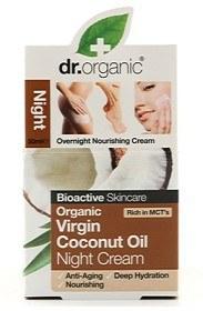 Bild på Dr Organic Virgin Coconut Oil Night Cream 50 ml