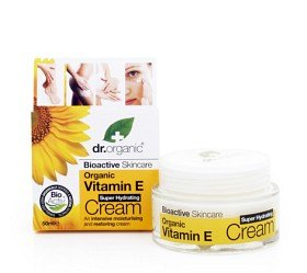Bild på Dr Organic Vitamin E Cream 50 ml