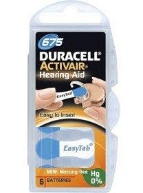 Bild på Duracell Batteri Activair 675 6 st