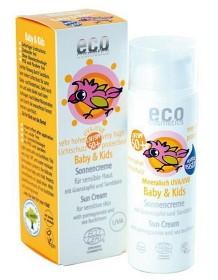 Bild på Eco Cosmetics Baby & Kids Solkräm SPF 50