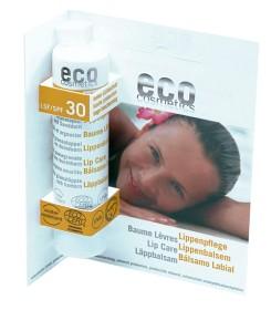 Bild på Eco Cosmetics Läppbalsam SPF 30