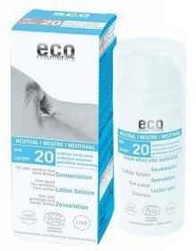 Bild på Eco Cosmetics Sollotion Neutral SPF 20, 100 ml