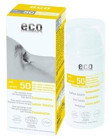 Bild på Eco Cosmetics Sollotion SPF 50, 100 ml
