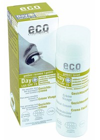 Bild på Eco Cosmetics Dagkräm tonad SPF 15, 50 ml