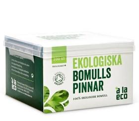 Bild på Ekologiska bomullspinnar 200 st
