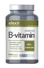 Bild på Elexir B-vitamin Komplex 100 kapslar