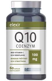 Bild på Elexir Coenzyme Q10 100 mg 60 kapslar