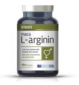 Bild på Elexir Maca L-arginin 180 kapslar