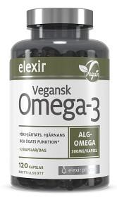 Bild på Elexir Pharma Vegansk Omega-3 120 kapslar