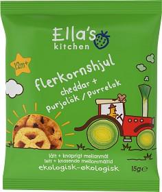 Bild på Ella's Flerkornshjul Cheddar 15 g