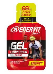 Bild på Enervit Sport Gel Koffein Citron 25 ml