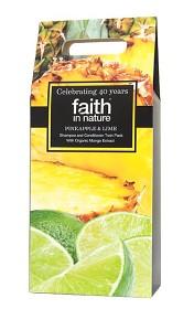Bild på Faith in Nature Pineapple Lime presentpåse