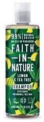 Bild på Faith In Nature Tea Tree & Lemon Shampoo 400 ml