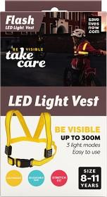 Bild på Flash LED Light Vest Barn 8-11 år