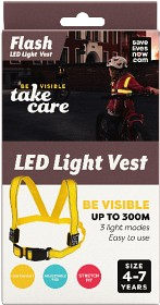 Bild på Flash LED Light Vest Barn 4-7 år