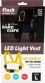 Bild på Flash LED Light Vest Vuxen Large