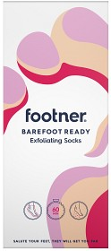 Bild på Footner Barefoot Ready Exfoliating Socks 1 par