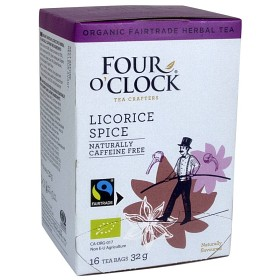 Bild på Four O'Clock Örtte Lakrits 16 st