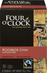 Bild på Four O'Clock Te Rooibos Chai 16 p