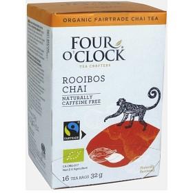 Bild på Four O'Clock Te Rooibos Chai 16 st