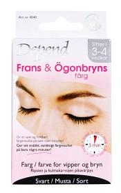 Bild på Depend frans & ögonbrynsfärg svart