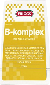 Bild på Friggs B-Komplex 120 tabletter