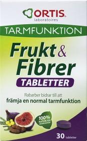 Bild på Frukt & Fibrer 30 tabletter
