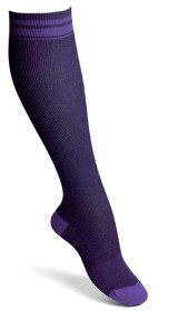 Bild på Funq Wear Knästrumpa Medical Perfectly Purple stl 36-37