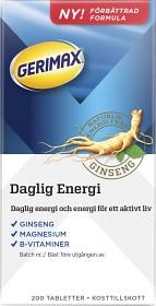Bild på Gerimax Daglig Energi 200 tabletter