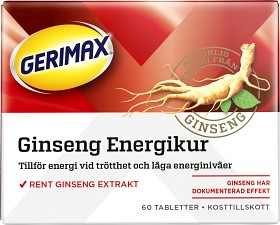 Bild på Gerimax Ginseng 60 tabletter
