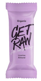 Bild på GET RAW Licorice & Almond 42 g
