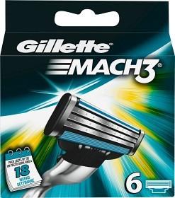 Bild på Gillette Mach3 rakblad 6 st