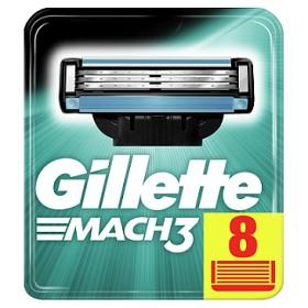Bild på Gillette Mach3 rakblad 8 st