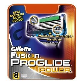 Bild på Gillette Fusion ProGlide Power rakblad 8 st