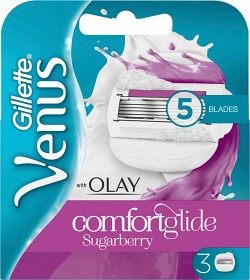Bild på Gillette Venus & Olay Sugarberry rakblad 3 st