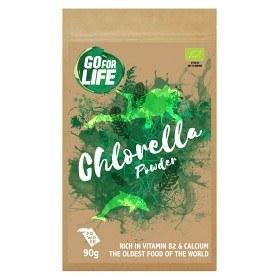 Bild på Go for life Chlorellapulver 90 g