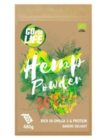 Bild på Go for life Hampapulver 30% Protein 480 g