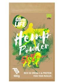 Bild på Go for life Hampapulver 50% Protein 480 g