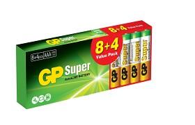 Bild på GP Super Alkaline AAA 12 st