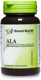 Bild på Great Earth Alfa Liponsyra 300 mg 60 tabletter