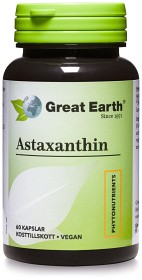 Bild på Great Earth Astaxanthin 60 kapslar