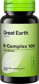 Bild på Great Earth B-Complex 100 60 tabletter