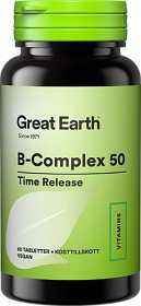 Bild på Great Earth B-Complex 50 60 tabletter