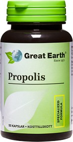 Bild på Great Earth Propolis 500 mg 50 kapslar