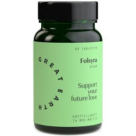 Bild på Great Earth Folsyra 60 tabletter